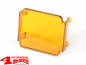 Preview: LED Headlamp Protection Cover square 8x7,5cm Amber