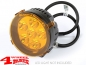 Preview: LED Headlamp Protection Cover round Ø 8,9cm Amber
