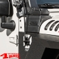 Preview: Elite Antenna Base Black Jeep Wrangler JK JL year 07-19
