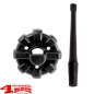 Mobile Preview: Elite Antenna Base + 15cm Stubby Radio Antenna JK JL JT 07-20