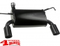 Preview: Sport Stainless Steel Muffler Black Wrangler JK year 07-18 2,8 L CRD + 6 Cyl.