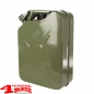 Preview: Steel Jerry Can 20 L Steel Nato Green from Rugged Ridge