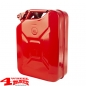 Preview: Reservekanister 20 L Stahl Rot von Rugged Ridge