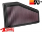 Preview: Sport Air Filter K&N Cherokee KL year 19-20 with 2,4 + 3,2 L US Modell