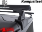 Mobile Preview: Overhead Rhino Rack Mounting Kit + Heavy Duty Bars Black JK year 07-18 2-doors