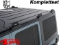 Preview: Overhead Rhino Rack Mounting Kit + Heavy Duty Bars Silver JK year 07-18 4-doors
