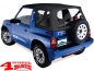 Preview: Replacement Soft Top Black Denim Clear Windows Vitara year 88-04