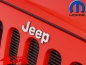 Preview: Grille Overlay Jeep Badge Chrome Wrangler JK year 07-18