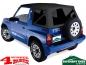 Mobile Preview: Replacement Soft Top Black Denim Tinted Windows Vitara year 88-04