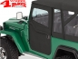 Preview: 2-Piece Doors Pair Black Denim Bestop Landcruiser BJ40 + FJ40 year 60-84