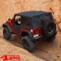 Preview: Teilbare Türen vorne Black Diamond Wrangler JK Bj. 07-18