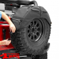 "Preview: Spare Tire Organizer in Black Diamond 34 - 37"" Jeep year 76-20"