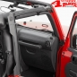 Preview: Soft Top Door Surround Kit Front Bestop Wrangler JK year 07-18 2-doors