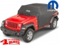 Mobile Preview: Cab Car Cover with Jeep Logo Mopar Wrangler JL 18-19 4-doors