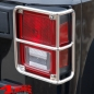 Preview: Tail Light Guards Pair Stainless Steel-Tube Wrangler JK year 07-18