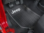 Preview: Floor Mats Front Black Elite Series with Logo for Jeep Models