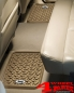 Preview: Floor Liner Set Rear Tan with Logo for Jeep Models