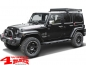 Mobile Preview: Schwellerrohre Black Rock texturiert Wrangler JK Bj. 07-18 4-Türer