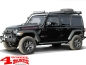 Preview: Side Tube Steps Black Rock textured Wrangler JL year 18-19 4-doors