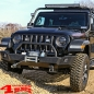 Preview: Light Bar Frame Hinges Mounted Black Wrangler JL year 18-19