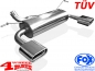 Preview: Sport Stainless Steel Muffler with TÜV Wrangler JK 07-18 CRD + 6 Cyl.
