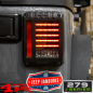 Preview: Rückleuchten Paar LED J.W. J Serie Wrangler JK Bj. 07-18