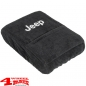 "Preview: Arm Rest Pad Cover Velour with ""Jeep"" Logo Wrangler JK year 07-10"