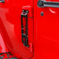 Preview: Side Step Black on Door Hinge Jeep Wrangler JK year 07-18