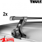 Preview: Overhead Roof Rack Bars Thule JK + JL year 07-20