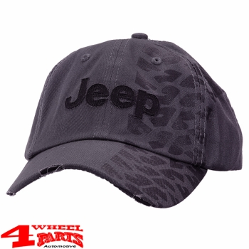 "Base Cap Jeep ""Charcoal Gray"" with Tire Tread from Mopar"
