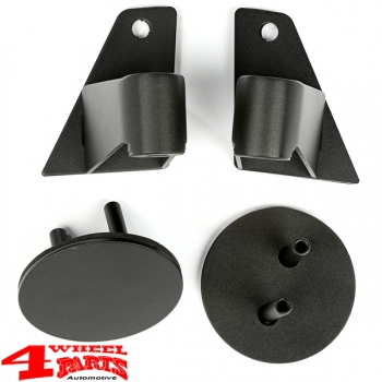 Mirror Relocation Bracket Black Textured Wrangler JK year 07-18