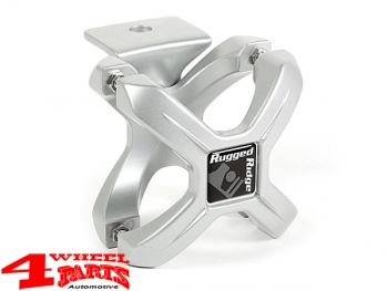 Mounting Bracket for Bumper Lights or GoPro X-Clamp each Alu