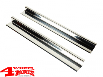 Entry Guard Set 4 pce. Stainless Steel Wrangler JK 07-18 2-doors