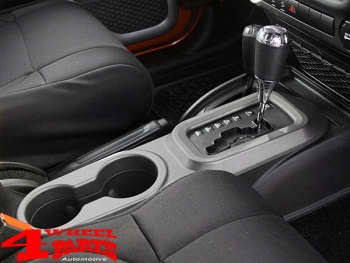 Charcoal Center Cup Console Automatic Wrangler JK year 11-18