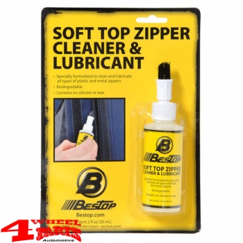 Soft Top Zipper Cleaner and Lubricant from Bestop