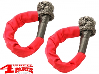 Shackle Set made of extra strong HMPE Rope Material 3.400 kg