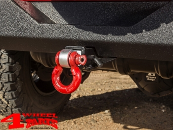 US Receiver Draw Bar for D-Rings or Hitch Ball for Rear Bumper