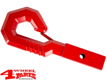 US Receiver Hitch Tow Hook Red Universal Fit GIGA