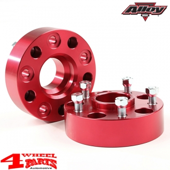 Wheel Spacer Kit 88mm 2 pce. Alloy Jeep Wrangler JK year 07-18