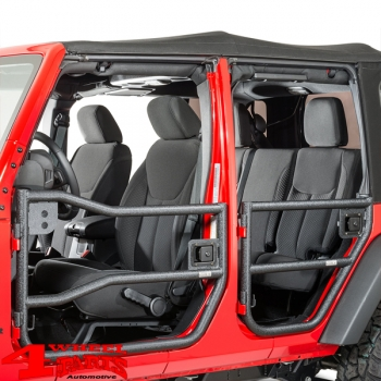 Element Doors Front textured Wrangler JK year 07-18 2- or 4-doors