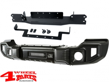 Front Bumper Spartacus Winch Kit 2-pieces Wrangler JL year 18-20