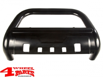 Front Tube Center Bumper Steel Black Wrangler JL year 18-20