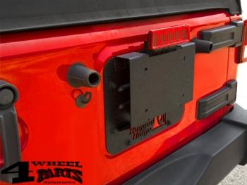 Tire Carrier Tramp Stamp Cover Kit Wrangler JK Year 07 18