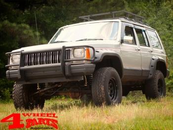 Jeep Cherokee Xj >> 4 Wheel Parts Fender Flare Set 11cm Pocket Style 4 Pce Jeep