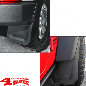 Splash Guard Kit Front + Rear Wrangler JK year 07-18