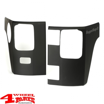 Body Corner Guards 2 pce. smooth Wrangler JK year 07-18 2-doors