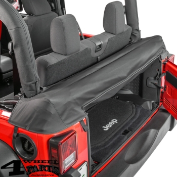 Soft Top Storage Boot in Black Diamond Wrangler JK year 07-18 2-doors