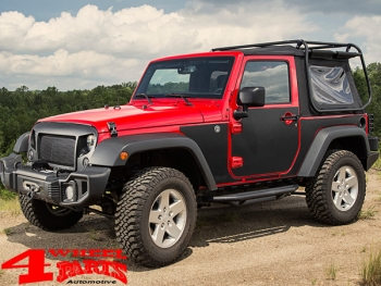 Body Protection Panels magnetic Wrangler JK year 07-18 2-doors
