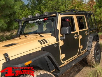 Body Protection Panels magnetic Wrangler JK year 07-18 4-doors