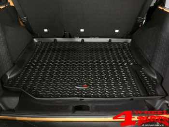 Cargo Liner Rear Black Jeep Wrangler JK year 11-18 2- or 4-doors
